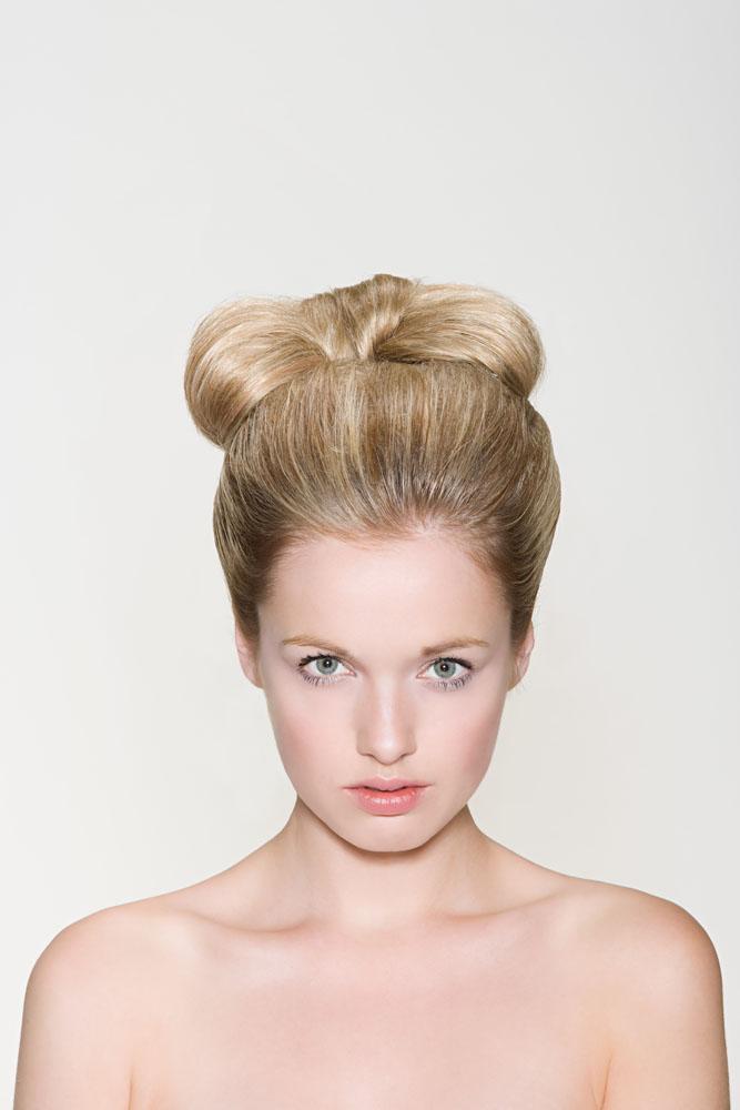 外国美女的发型高清图片