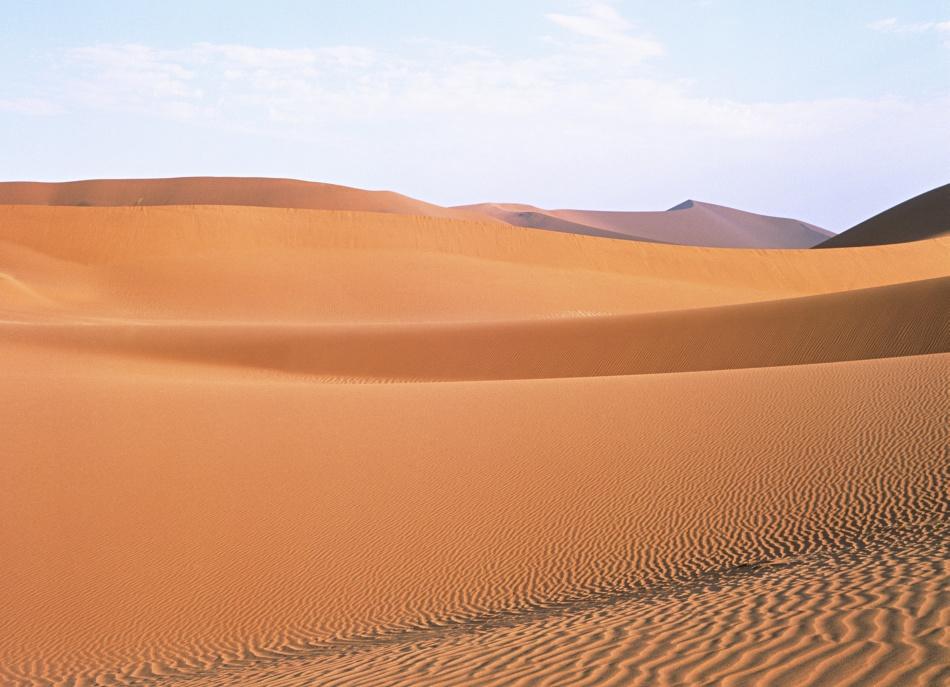 大沙漠风光美景高清图片