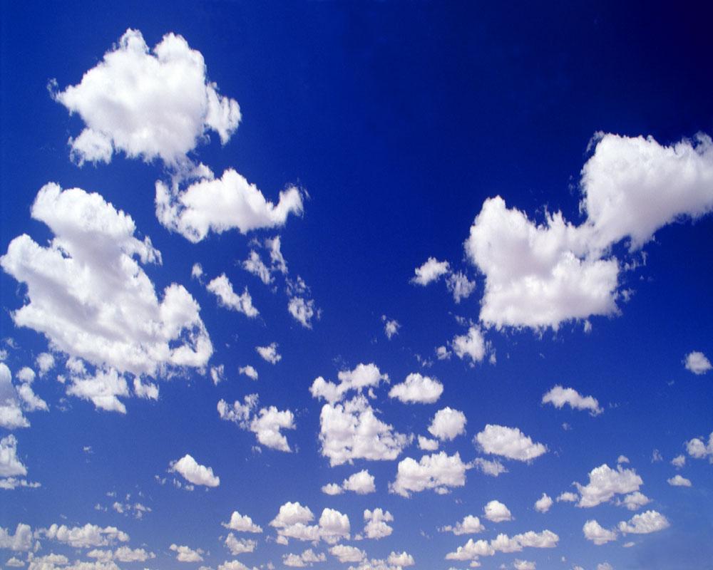 蓝天白云图片44