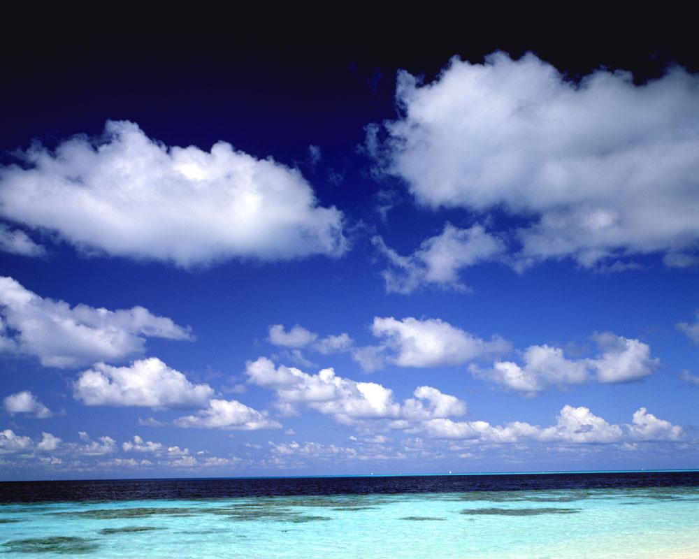 蓝天白云图片34