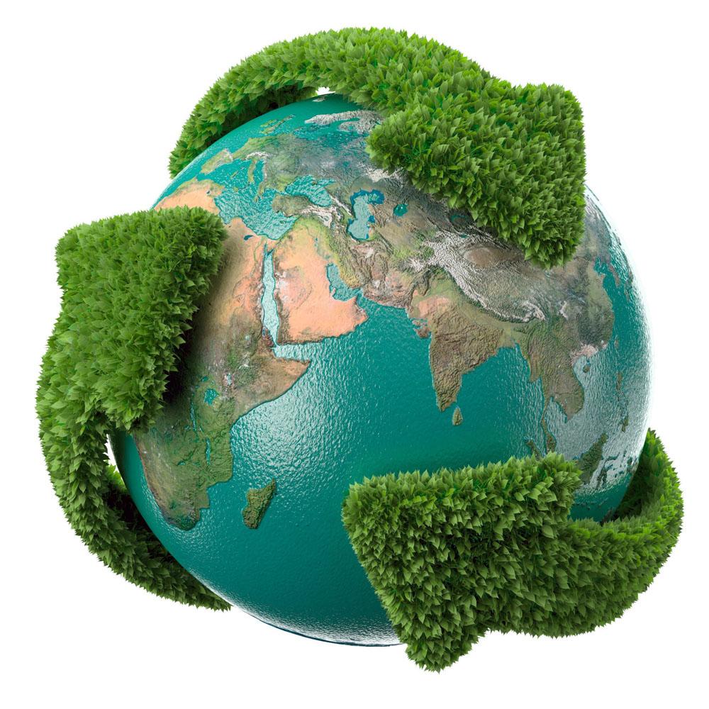 创意地球环保高清图片