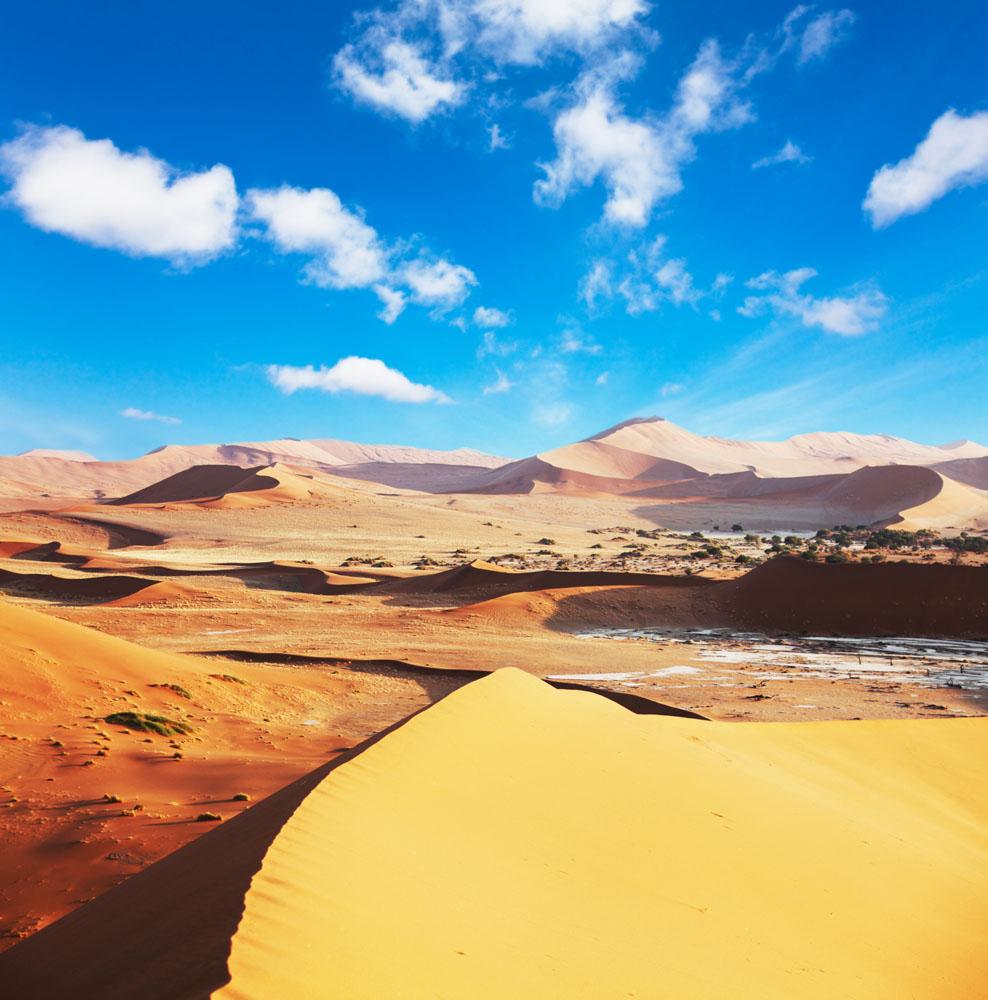 美丽的沙漠风景高清图片