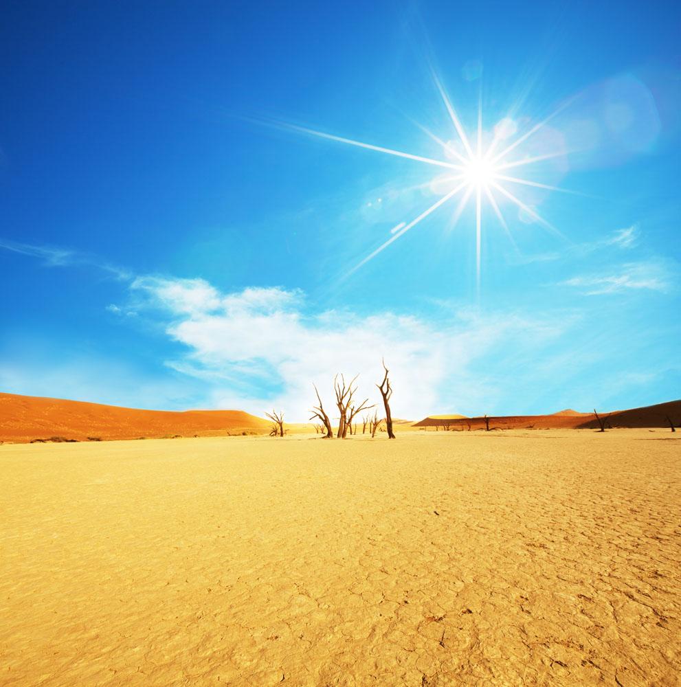 沙漠美丽风景高清图片