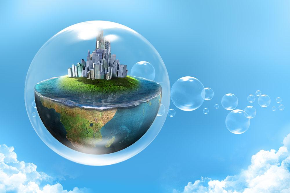 生态地球环保图片