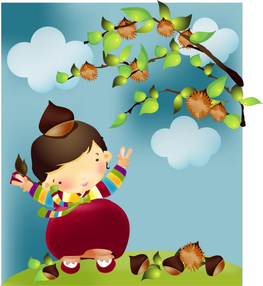 时尚韩国卡通儿童图片