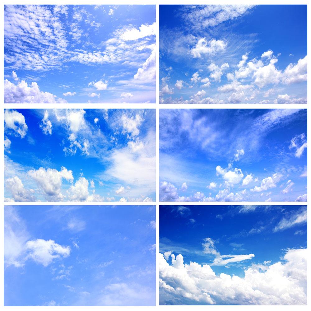 6张蓝天白云图片