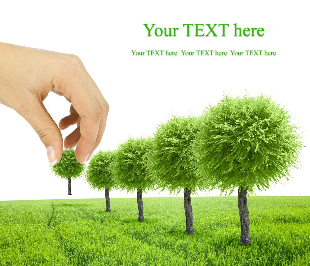 宣传绿色环保