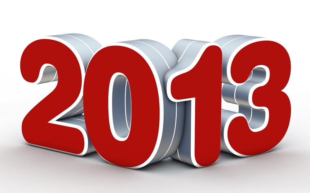 创意2013新年字体设计图片